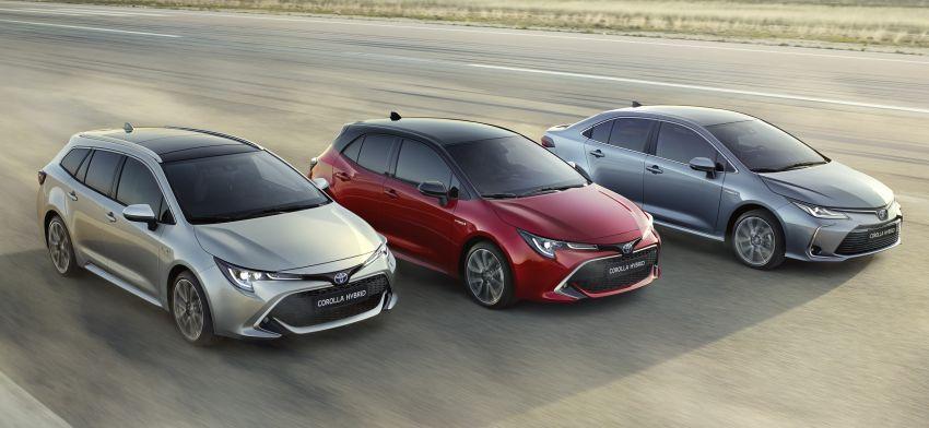 2019 Toyota Corolla sedan – 12th-gen makes its debut Image #889516