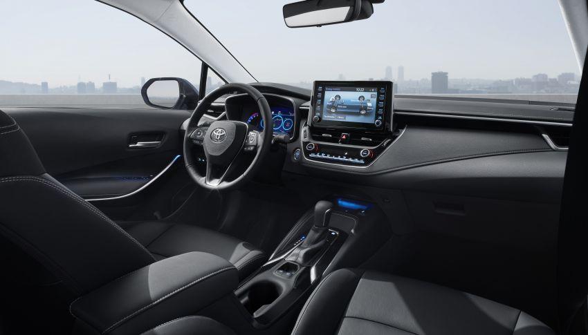 2019 Toyota Corolla sedan – 12th-gen makes its debut Image #889517