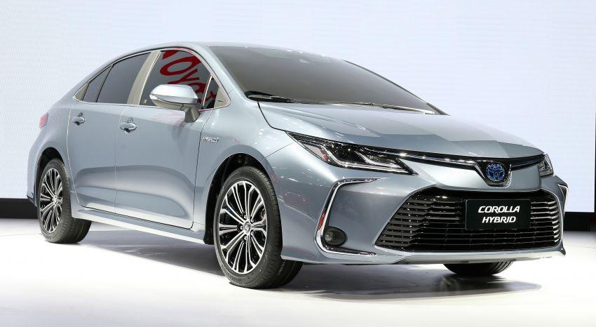 Toyota Corolla sedan generasi ke-12 didedahkan Image #889637