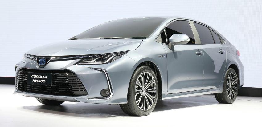 2019 Toyota Corolla sedan – 12th-gen makes its debut Image #889521