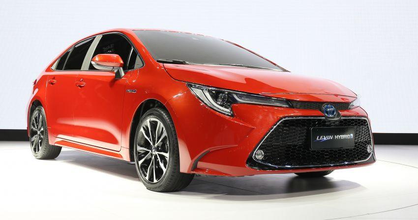 2019 Toyota Corolla sedan – 12th-gen makes its debut Image #889527