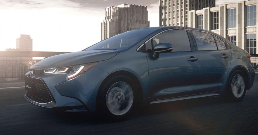 2019 Toyota Corolla sedan – 12th-gen makes its debut Image #889506