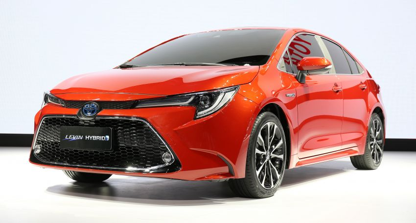 2019 Toyota Corolla sedan – 12th-gen makes its debut Image #889500