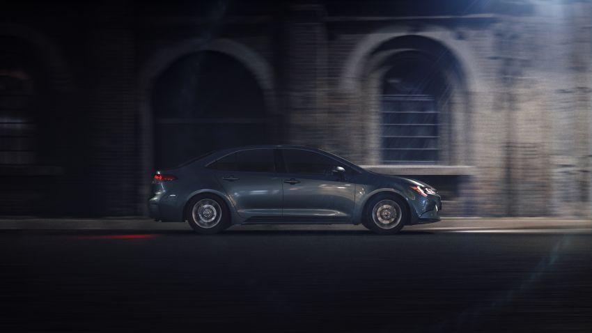 Toyota Corolla sedan generasi ke-12 didedahkan Image #889623