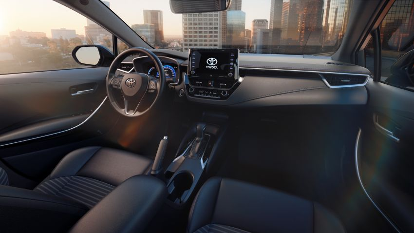 2019 Toyota Corolla sedan – 12th-gen makes its debut Image #889509