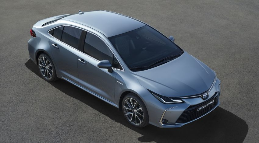 2019 Toyota Corolla sedan – 12th-gen makes its debut Image #889512