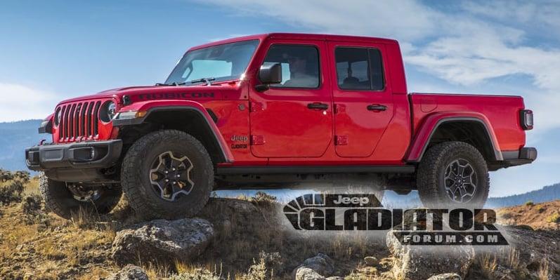 Jeep Gladiator 2020 – imej bocor sebelum pengenalan Image #889200