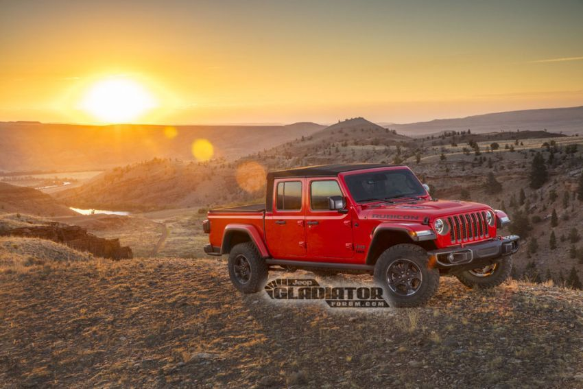 Jeep Gladiator 2020 – imej bocor sebelum pengenalan Image #889203
