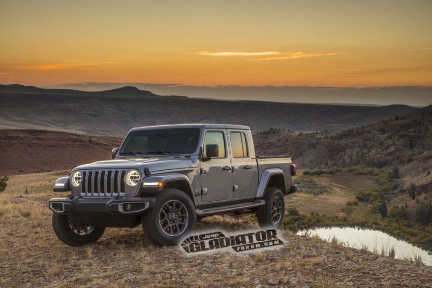 Jeep Gladiator 2020 – imej bocor sebelum pengenalan Image #889204