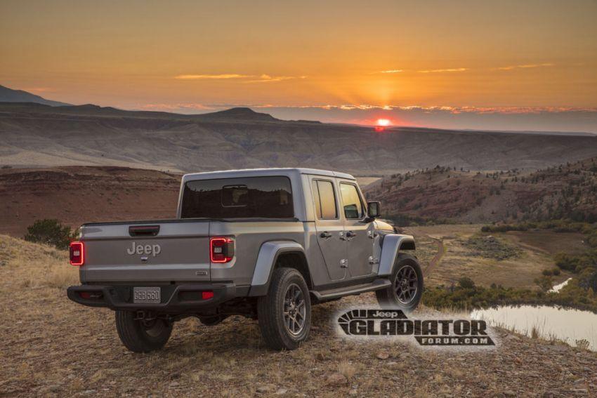Jeep Gladiator 2020 – imej bocor sebelum pengenalan Image #889205