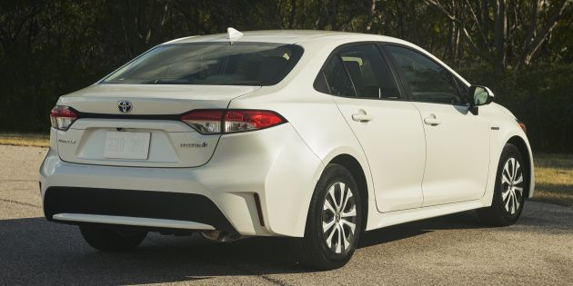 Toyota Usa Didn T Provide Any Interior Photos Of The Corolla Hybrid But It Should Be Identical To Xse And Levin Albeit With Some Model Specific