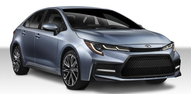 2019 Toyota Corolla Sedan 12th Gen Makes Its Debut