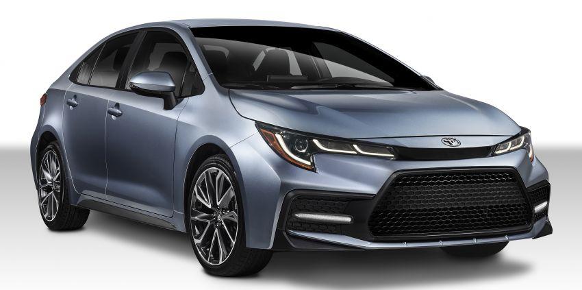 2019 Toyota Corolla sedan – 12th-gen makes its debut Image #889580