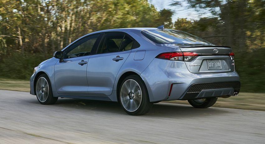 2019 Toyota Corolla sedan – 12th-gen makes its debut Image #889592