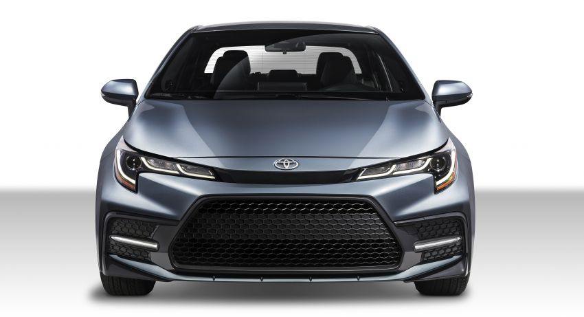 2019 Toyota Corolla sedan – 12th-gen makes its debut Image #889581