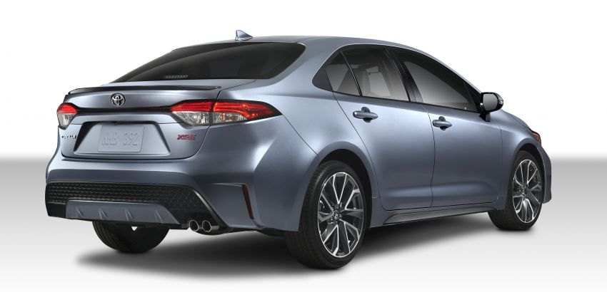 2019 Toyota Corolla sedan – 12th-gen makes its debut Image #889582