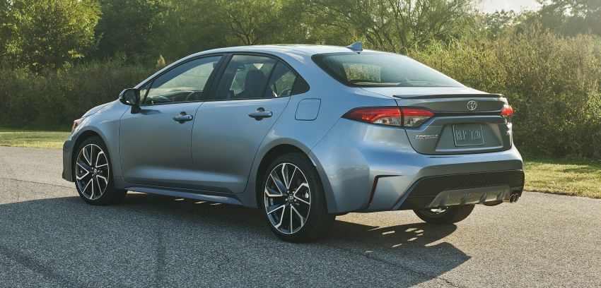 2019 Toyota Corolla sedan – 12th-gen makes its debut Image #889588