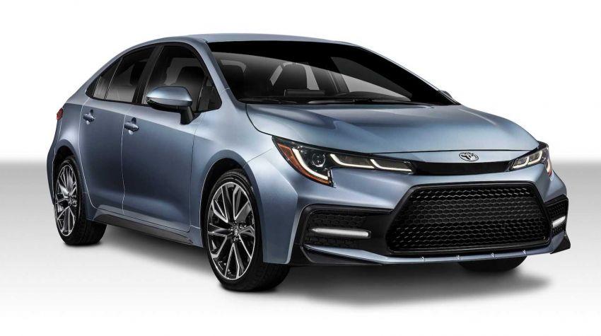 Toyota Corolla sedan generasi ke-12 didedahkan Image #889546