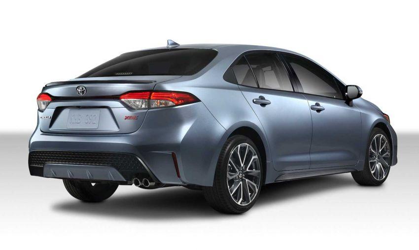 Toyota Corolla sedan generasi ke-12 didedahkan Image #889545