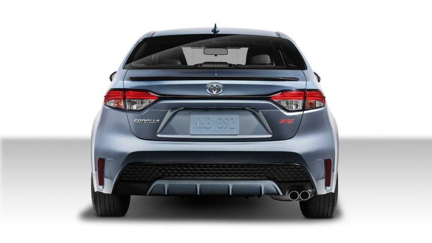 Toyota Corolla sedan generasi ke-12 didedahkan Image #889543