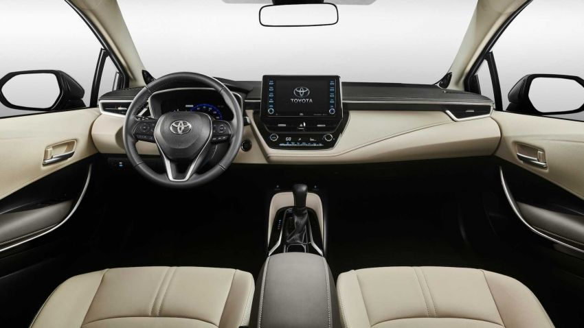 Toyota Corolla sedan generasi ke-12 didedahkan Image #889542