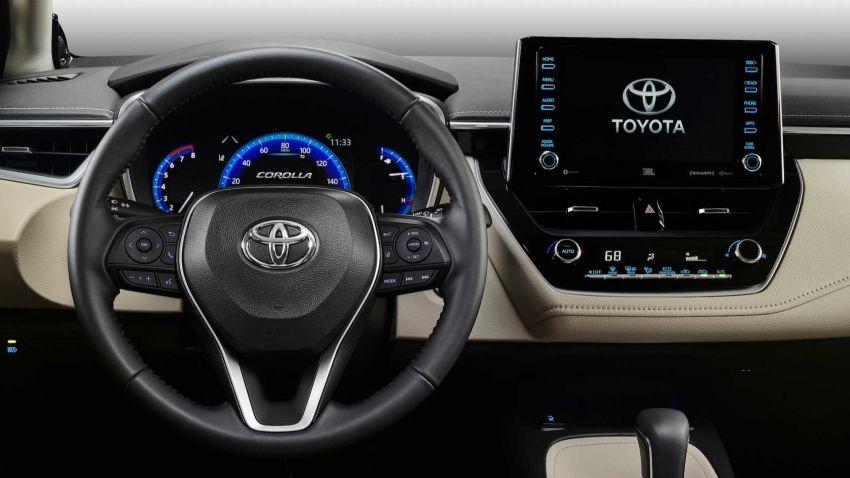Toyota Corolla sedan generasi ke-12 didedahkan Image #889541