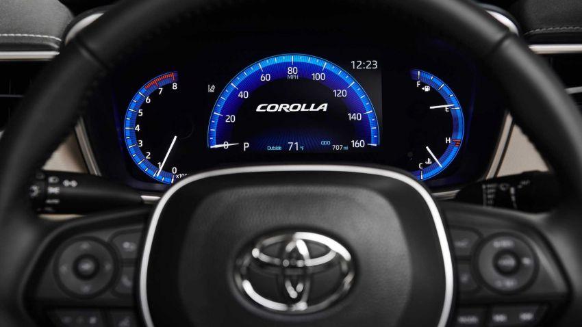 Toyota Corolla sedan generasi ke-12 didedahkan Image #889540