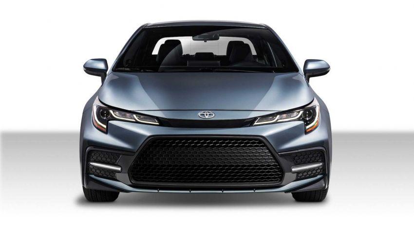 Toyota Corolla sedan generasi ke-12 didedahkan Image #889547