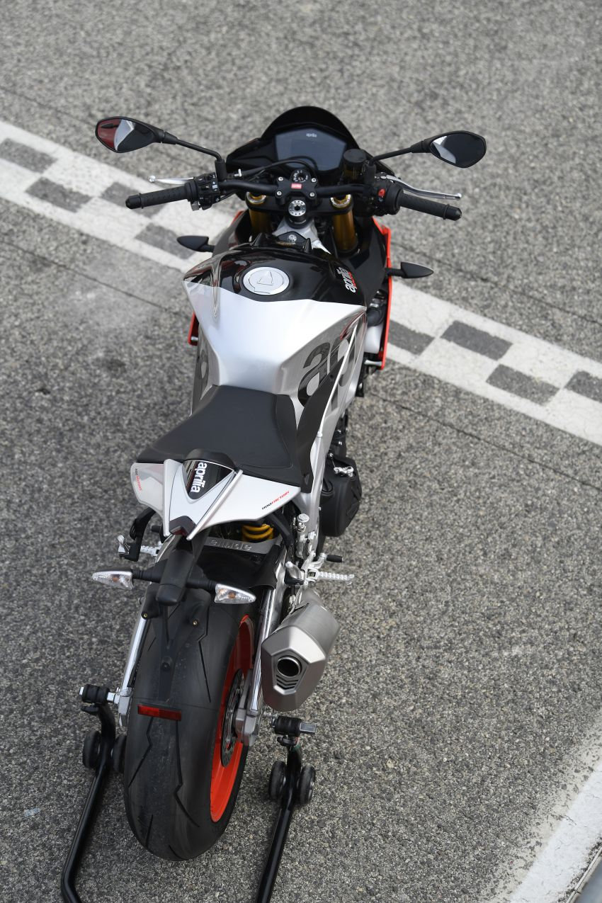 2018 EICMA: 2019 Aprilia Tuono V4 1100 Factory and Tuono 1100 RR – 175 hp and electronic suspension Image #885942