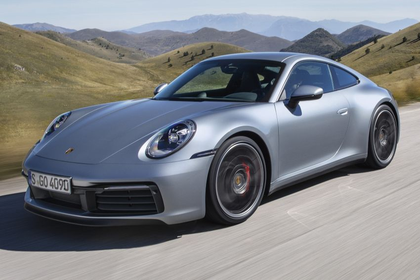 992 Porsche 911 revealed – new tech, 450 PS flat-six Image #895491