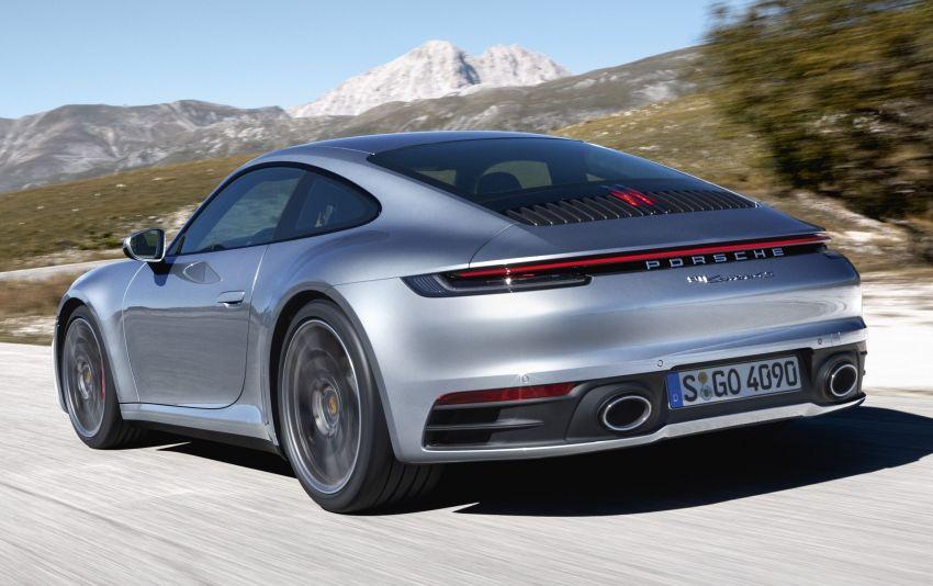 Porsche 911 generasi baharu didedahkan – enam silinder boxer, 450 PS, padat dengan teknologi terkini Image #895586