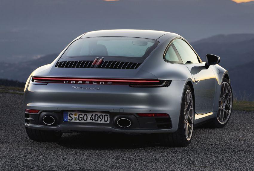 Porsche 911 generasi baharu didedahkan – enam silinder boxer, 450 PS, padat dengan teknologi terkini Image #895579