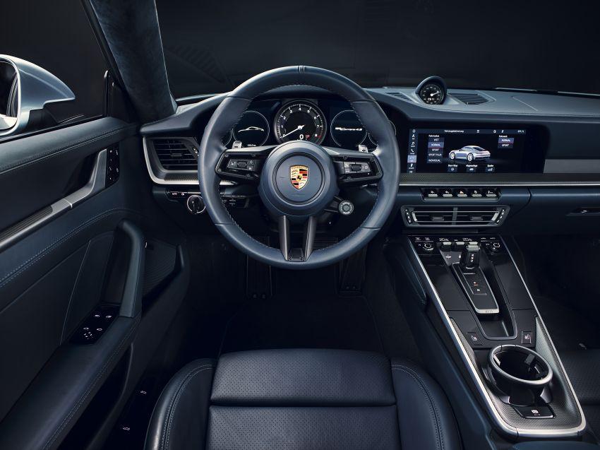 992 Porsche 911 revealed – new tech, 450 PS flat-six Image #895507
