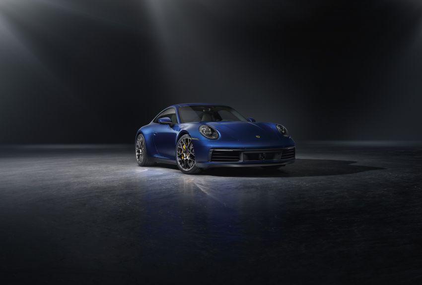 992 Porsche 911 revealed – new tech, 450 PS flat-six Image #895509