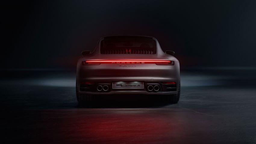 992 Porsche 911 revealed – new tech, 450 PS flat-six Image #895480