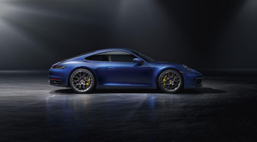 992 Porsche 911 revealed – new tech, 450 PS flat-six Image #895510