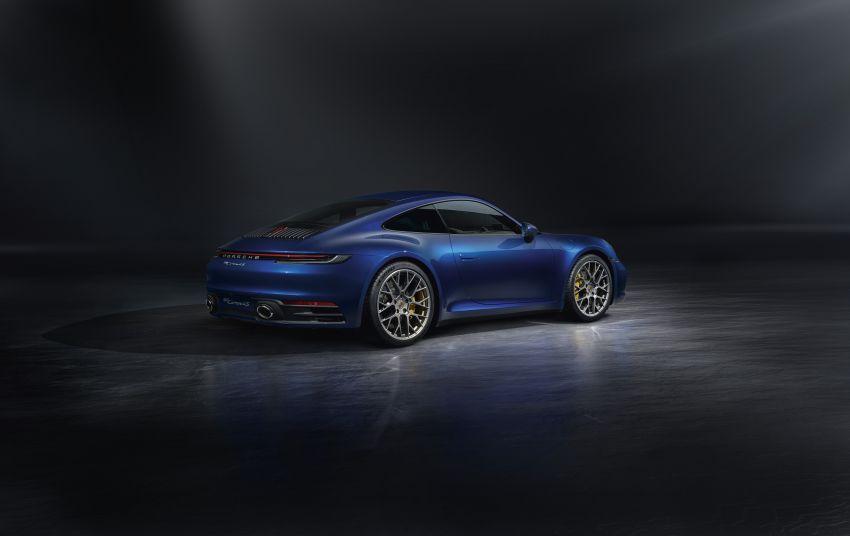 992 Porsche 911 revealed – new tech, 450 PS flat-six Image #895511