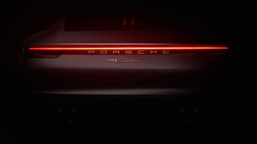 992 Porsche 911 revealed – new tech, 450 PS flat-six Image #895481