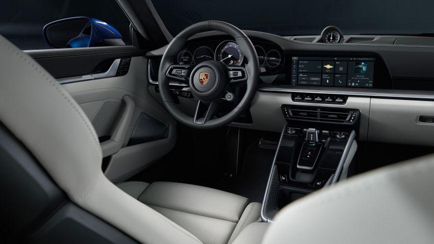 Porsche 911 generasi baharu didedahkan – enam silinder boxer, 450 PS, padat dengan teknologi terkini Image #895560