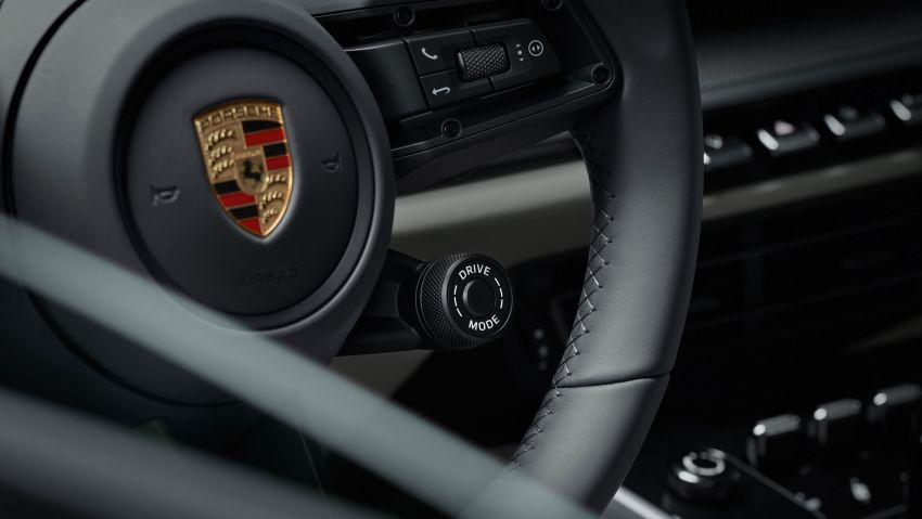 Porsche 911 generasi baharu didedahkan – enam silinder boxer, 450 PS, padat dengan teknologi terkini Image #895556