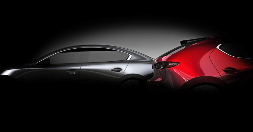 All-new Mazda 3 set to debut at 2018 LA Auto Show Image #886124