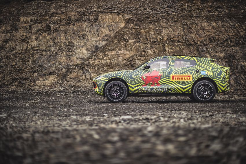 Aston Martin DBX – marque's first SUV begins testing Image #888520