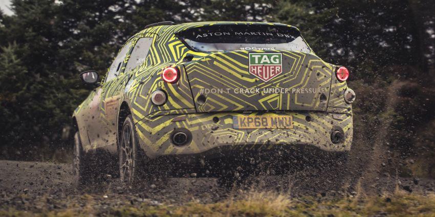 Aston Martin DBX – marque's first SUV begins testing Image #888529
