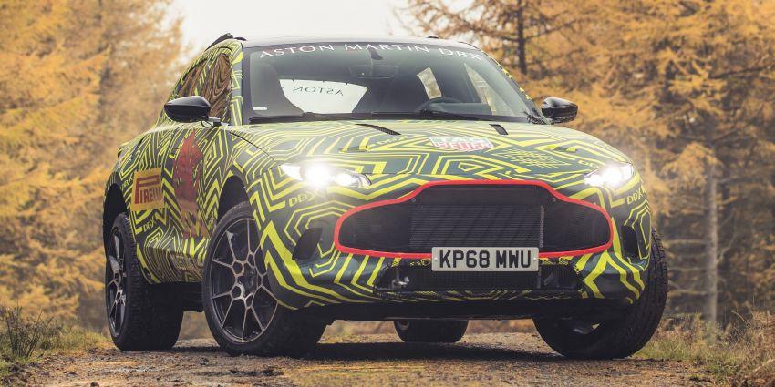 Aston Martin DBX – marque's first SUV begins testing Image #888521