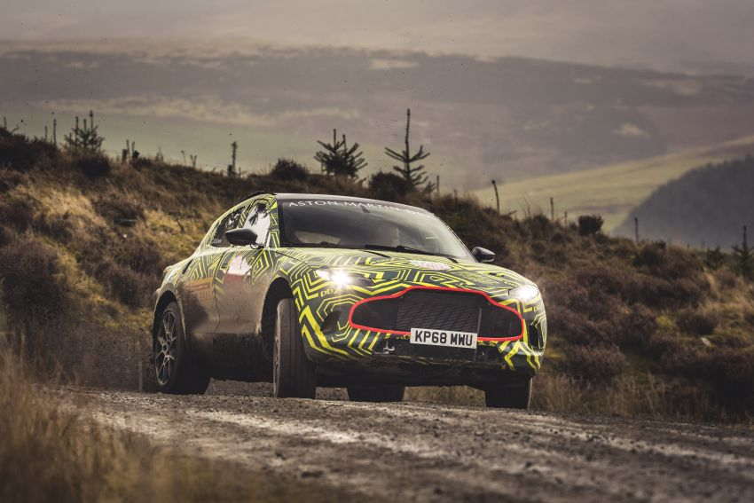 Aston Martin DBX – marque's first SUV begins testing Image #888522
