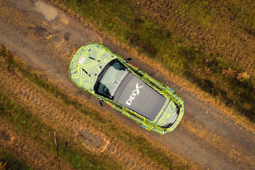 Aston Martin DBX – marque's first SUV begins testing Image #888524