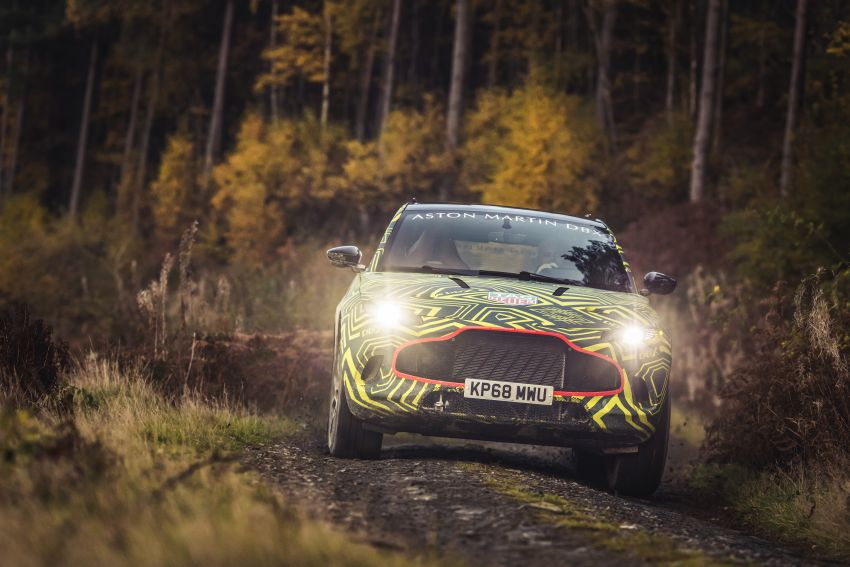 Aston Martin DBX – marque's first SUV begins testing Image #888525
