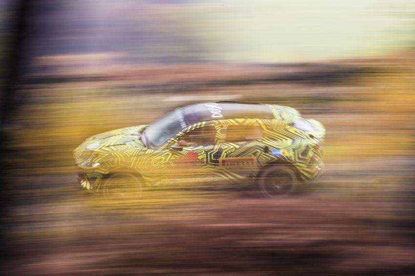 Aston Martin DBX – marque's first SUV begins testing Image #888526