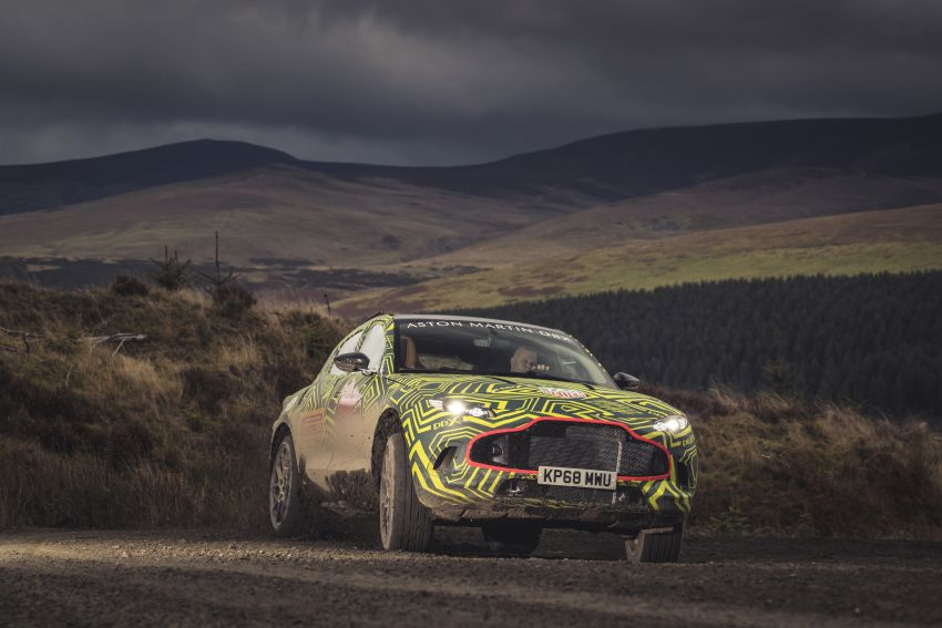 Aston Martin DBX – marque's first SUV begins testing Image #888527