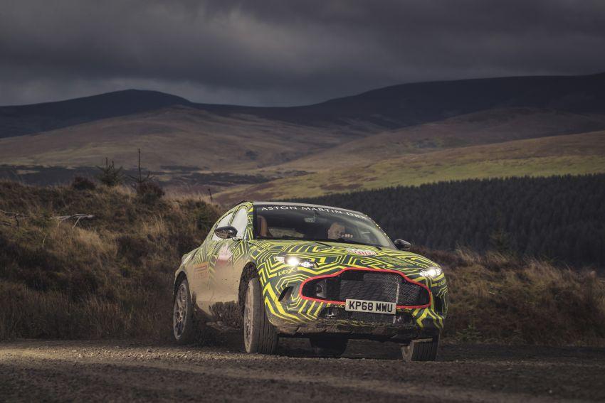 Aston Martin DBX – marque's first SUV begins testing Image #888527